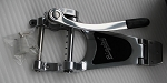 Genuine Bigsby B70 Vibrato Tailpiece Chrome Bigsby Lic for Arch Top Guitar,with Original Box