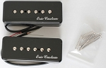 Eric Custom,ASC90-BK,Neck/Bridge,Black Soapbar Single Pickup (Ceramic Bar)