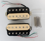 Eric Custom NATURAL-15ZB, Neck/Bridge,Zebra Humbucker Pickup (Alnico5 Bar)