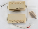 Eric Custom WORLD-25-GD,Neck/Bridge,LP Humbucker Gold Plated Pickup,Gold,2 Conducts Metal Shield Wire,(Alnico5 Bar)