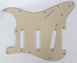Stratocaster '62 pickguard 3ply Cream fits fender new