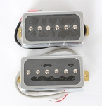 vintage style Single Coil Les Paul Pickup,Neck/Bridge,Alnico V,#PB-090A