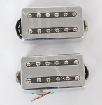Chrome Open Covered Pickup,Alnico-V,Les Paul Pickup,Neck/Bridge,#SP-930A