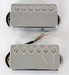 Chrome Covered Pickup,Alnico V,Les Paul Pickup,Neck/Bridge,#XL-510A