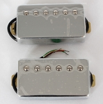 Chrome Covered Pickup,Ceramic,Les Paul Pickup,Neck/Bridge,#XL-510