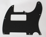 Tele P90 pickup Routing pickguard 3 ply Black