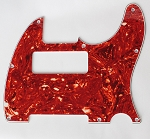 Tele P90 pickup Routing pickguard Red Tortoise Shell