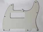 Tele P90 pickup Routing pickguard 3 ply Parchment