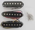 Artec 7 String Single Pickups,Flat Pole Piece top,Black Color,Alnico
