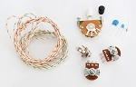 Wiring Kit,fo Tele custom,High quality switch,Deluxe Alpha Pots,Ceramic capacitor,Volume Kit,Wire,item,#WK-TL50