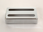 Chrome Humbucker pickup cover,Height 16mm,fits most of LP humbucker pickup,#PC-32018