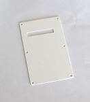 1ply White Tremolo Cover,Back Plate,made by Plastic injection,#014