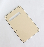 3Ply Cream Standard Back Plate Tremolo Cover for Fender
