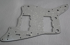 '62 Jazzmaster Pickguard, White Pearl Color,Fits USA Fender,#N011