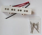 Artec J Bass,1pcs of Bridge Pickup,4-String White,Alnico5