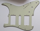 Mint Green,Strat 2H/1S(HSH) pickguard,Fits Covered and open Humbucker Pickup