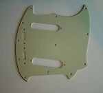 NEW 3 Ply Mint Green Pickguard fits Fender USA Mustang Guitar,#P040