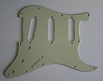 Stratocaster '62 pickguard 3ply Mint Green fits fender new,#V045