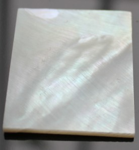 White Mother Of Pearl Blank Material For Inlay Custom