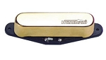 Wilkinson MWTN Telecaster Neck Pickup,Gold Cover,Ceramic