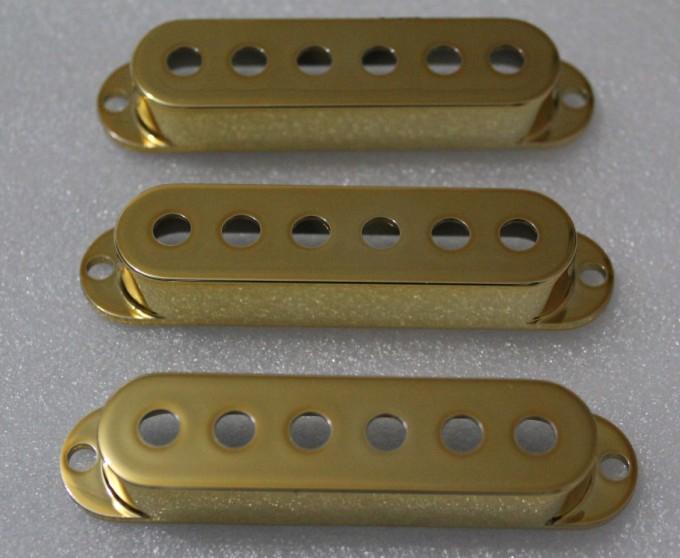 Gold Strat Pickup Cover 52mm String Spreadfits Genuine Fender Strat