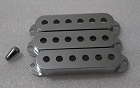 Chrome Strat Pickup Cover 52mm String Spread Fits Genuine Fender Strat