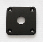 Black,Plastic Curved Jack Plate,34.8mm*34.8mm,for original Gibson