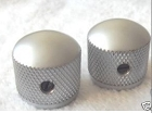 2Pcs* Satin Chrome Metal knob NEW,Metric size