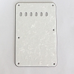 White Pearl,vintage Back Plate Tremolo Cover for Fender