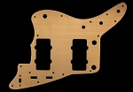 62' Jazzmaster Pickguard,Metal Aluminum Gold Anodized,Fits USA Fender