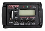 Artec EDGE-ZF(Flat Surface Bottom), 4 Band Equalier with Jack,Piezo Pickup,1Kit