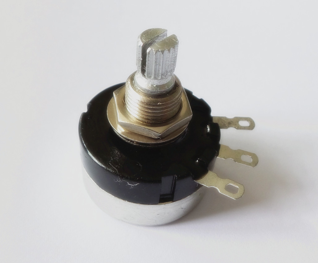 mighty mite brand potentiometer sealed a250k full size. Black Bedroom Furniture Sets. Home Design Ideas