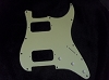 Strat HH pickguard Mint Green 3 PLY for Fender body custom