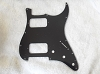 Strat HH pickguard Black 3 PLY for Fender body custom