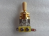 3 Way toggle switch Gold with Cream Tip for Gibon Epiphone Les Paul