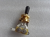 3 Way toggle switch Gold with Black Tip for Gibon Epiphone Les Paul