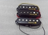 Powered by LACE pickup,1 Set of Single Open,Flat top,Alnico-V,Black Pickup Cover,LACE-LSP002ABK
