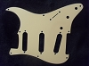 Stratocaster '57 pickguard 3ply Cream fits fender new