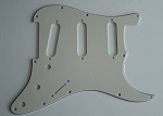 Stratocaster Standard pickguard 3ply Parchment fits fender new,#V034
