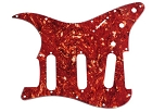 Stratocaster Standard pickguard,Red Tortoise Shell fits fender new,#V011