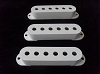 3Pcs Strat Stratocaster Single Coil Pickup Cover White