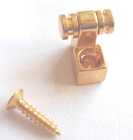 Strat String Tree Retainer Roller style body custom Gold