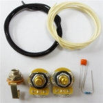 Wiring Kit,for Fender 51 P Bass,CTS A250K, 0.1uf capacitor,15k resistance,Switchcraft  jack socket