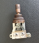 New Les Paul SG 3 Way toggle Switch,Antiqued Bronze finish