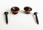 1Set,New End Pin, for Acoustic,Electric Guitar,Bass,Antiqued Bronze finish