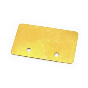 Jazzmaster Pickup Shield,Brass
