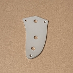 Left hand,Volume Tone Pot Control plate,for Fender Jaguar,Chrome Finish