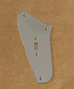 One Slide Switch plate,for Fender Jaguar Custom,Chrome Finish
