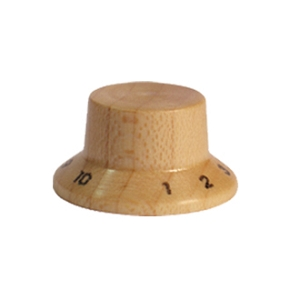 Wood knob with numbers,Dome Shape,Maple wood,Push on style Knob
