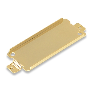 Mini Humbucker Pickup Base Plate Short 5mm Leg Height,Brass with 78.5mm mounting hole distance